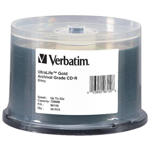 Verbatim CD-R 700MB Gold Archival Disc