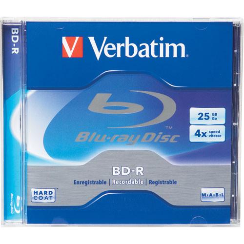 Verbatim BD-R Blu-ray Recordable Disc