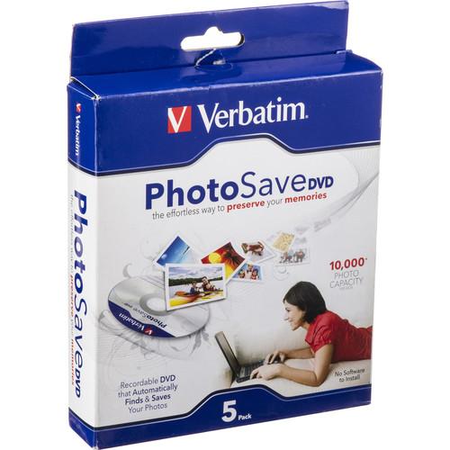 Verbatim DVD-R PhotoSave (Slim Case Pack of 5)