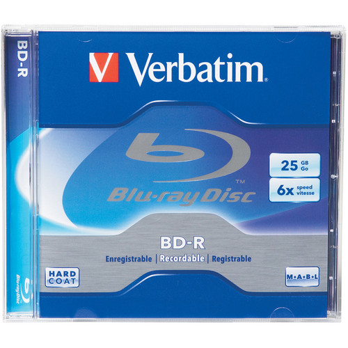 Verbatim Single Layer 25GB Blu-ray Disc