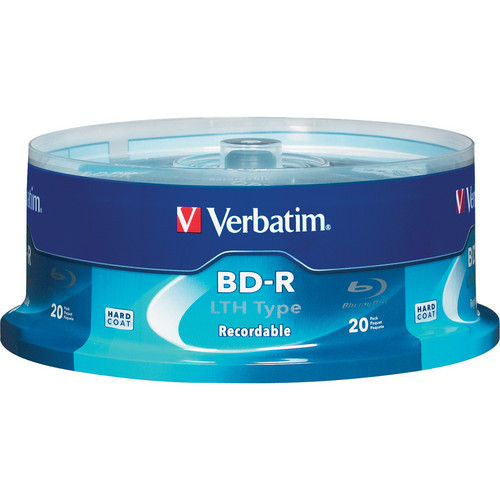 Verbatim Blu-Ray R LTH Type 25GB 6x 20-Pack Spindle