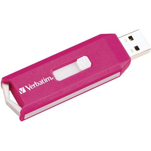 Verbatim Store 'n' Go USB Drive - TAA Compliant/FIPS Certified (Pink)