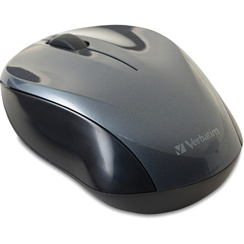 Verbatim Graphite Nano Wireless Notebook Optical Mouse