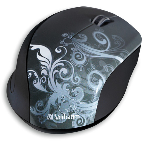 Verbatim Wireless Optical Design Mouse (Graphite Design)