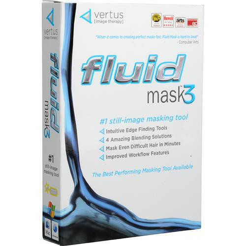 Vertus Tech Fluid Mask 3 Software Software Plug-in for Photoshop CS2/CS3
