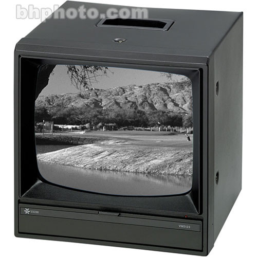 "Vicon VM5124 12"" High Resolution Monochrome Monitor"