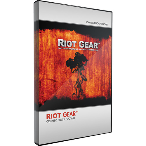 Video Copilot Riot Gear Pre-Matted Organic Stock Footage