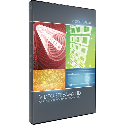 Video Copilot Video Streams HD for After Effects (Download)
