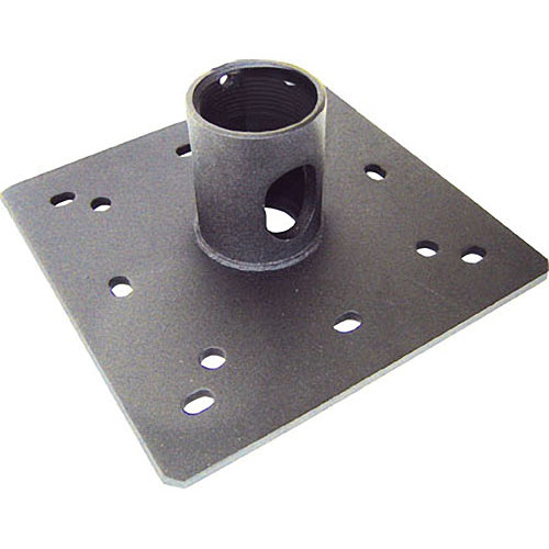 "Video Mount Products CP-1PT Ceiling Plate for 1.5"" NPT Pipe w/ Cable Pass-Through"