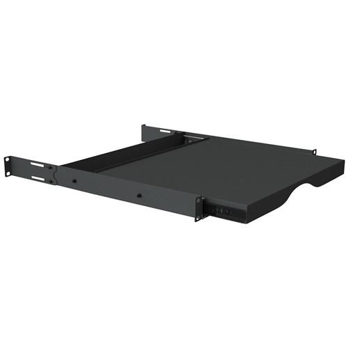 Video Mount Products Rack Mounted Sliding Shelf (1 U)