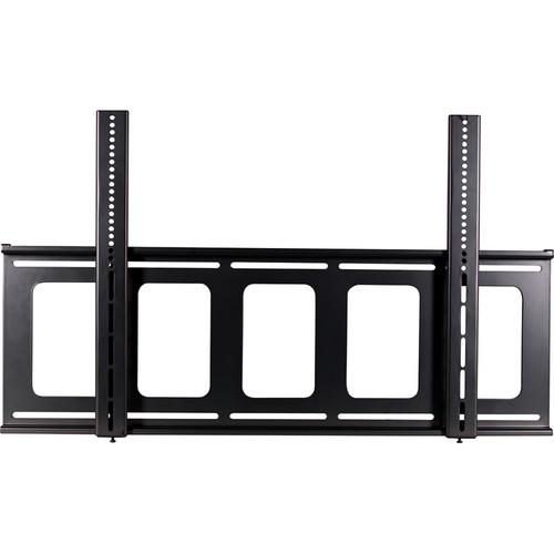 Video Mount Products FP-LF Large Flat-Panel Flush Mount - Black