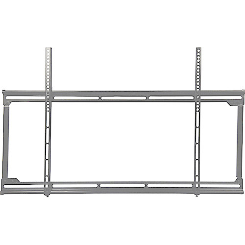 Video Mount Products FP-LFV Large Flat Panel Flush Mount - Silver