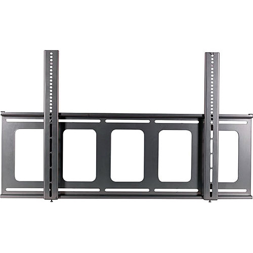 Video Mount Products FP-LF Large Flat-Panel Flush Mount - Silver