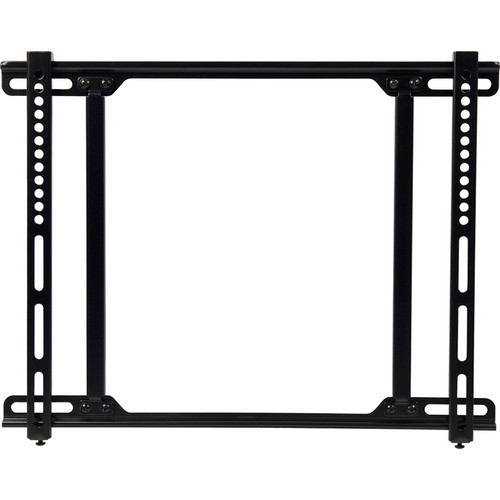 Video Mount Products FP-MF Mid-Size Flat Panel Flush Mount - Black