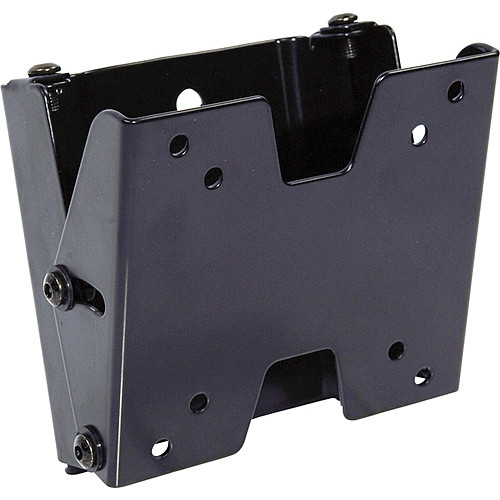Video Mount Products FP-SFT Small Flat Panel Flush Mount w/ Tilt - Black