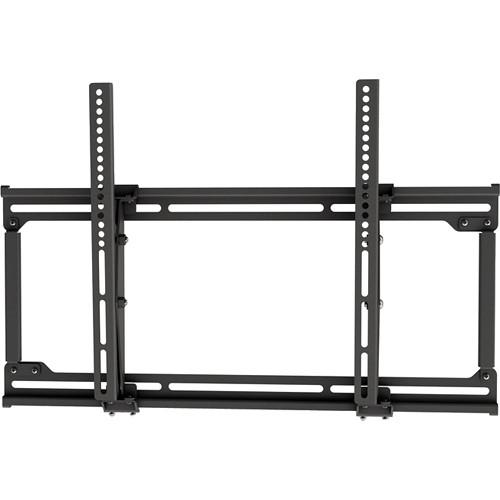 Video Mount Products Extra Medium Flat Panel Flush Mount with Tilt (Black)