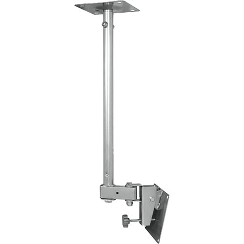 Video Mount Products LCD-1C Small Flat Panel Ceiling Mount - White