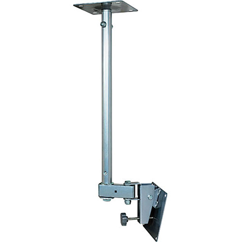 Video Mount Products LCD-1C Small Flat Panel Ceiling Mount - Silver