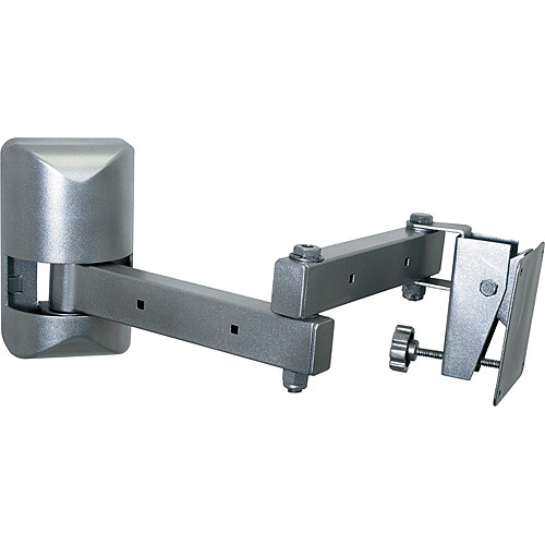 Video Mount Products LCD-1 Multi-Configurable Small Flat Panel Articulating Wall Mount - Silver