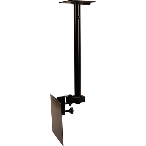 Video Mount Products LCD-2537C Mid-Size Flat Panel Ceiling Mount - Black