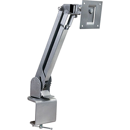 Video Mount Products LCD-2 Small Flat Panel Table/Desk Mount - Silver