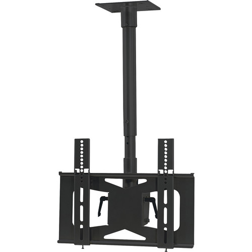 Video Mount Products LCD-MID-C Mid-Size Flat Panel Ceiling Mount - Black