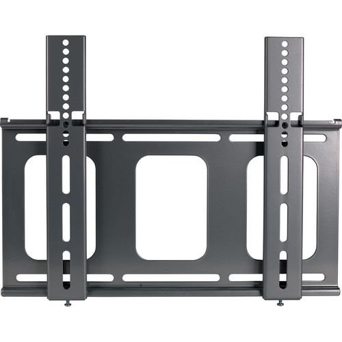 Video Mount Products LCD-MID-F Flat Panel Flush Mount - Black