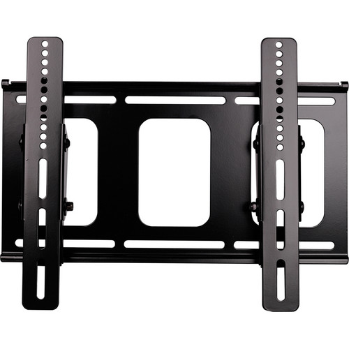 Video Mount Products LCD-MID-FT Mid-Size Flat Panel Flush w/ Tilt Mount - Black