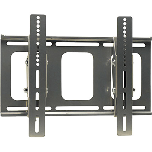 Video Mount Products LCD-MID-FT Mid-Size Flat Panel Flush w/ Tilt Mount - Silver