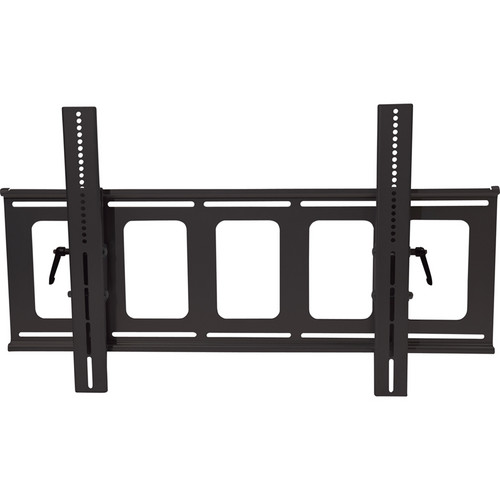 Video Mount Products PDS-LFT Large Flat Panel Flush Mount with Tilt - Black