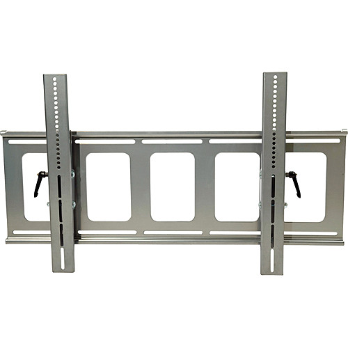 Video Mount Products PDS-LFT Large Flat Panel Flush Mount with Tilt - Silver