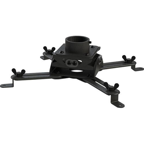 Video Mount Products PM-LPMB Yokeless Low Profile Projector Mount (Black)