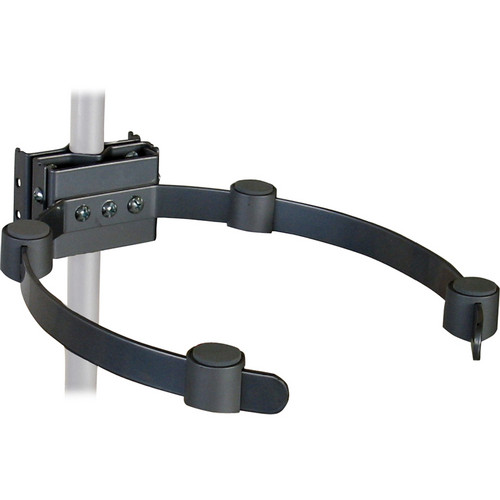 Video Mount Products VH-005 Pipe/Ceiling Mast Electronic Component Holder - Black