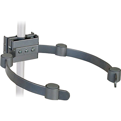 Video Mount Products VH-005 Pipe/Ceiling Mast Electronic Component Holder - Silver