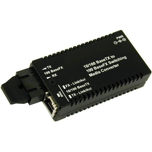 Videolarm Mini-media Ethernet over Fiber Converter