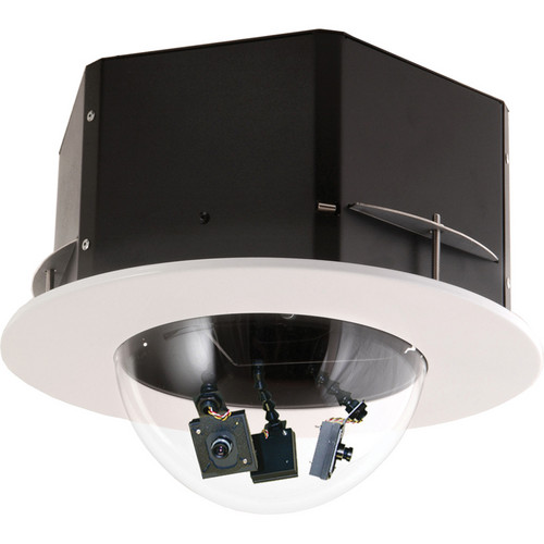 Videolarm QMRC370NA QView Recessed Ceiling Dome