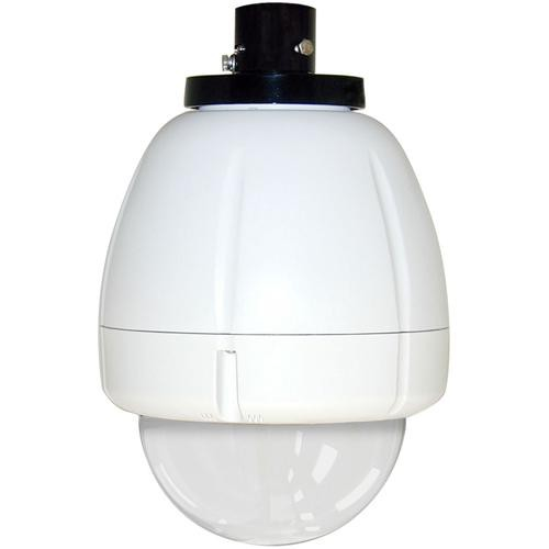 "Videolarm RHP75C12N 7"" FusionDome Outdoor IP Ready Vandal Resistant Pendant Mount PTZ Housing"