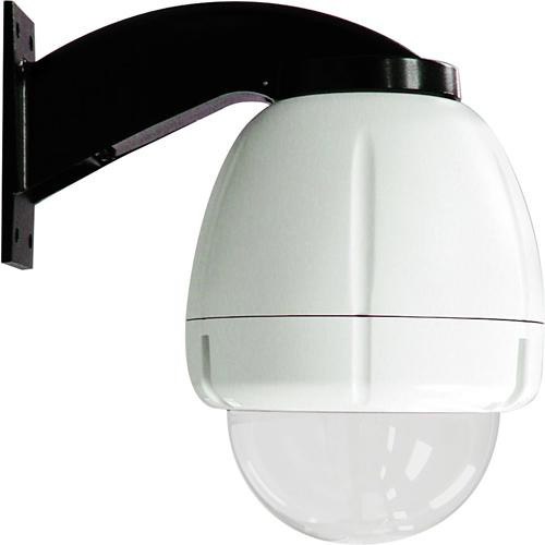 "Videolarm RHW75C12N 7"" FusionDome Outdoor IP Ready Vandal Resistant Wall Mount PTZ Housing"
