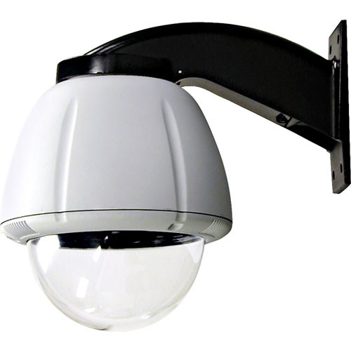 """Videolarm RHW7CF2  7"""" Vandal Resistant Wall Mount Dome Housing with Heater & Blower for Fixed Camera"""
