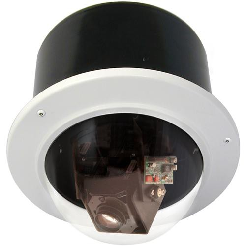 "Videolarm RM7C2N 7"" FusionDome Outdoor IP Ready Vandal Resistant Recessed Mount PTZ Housing"