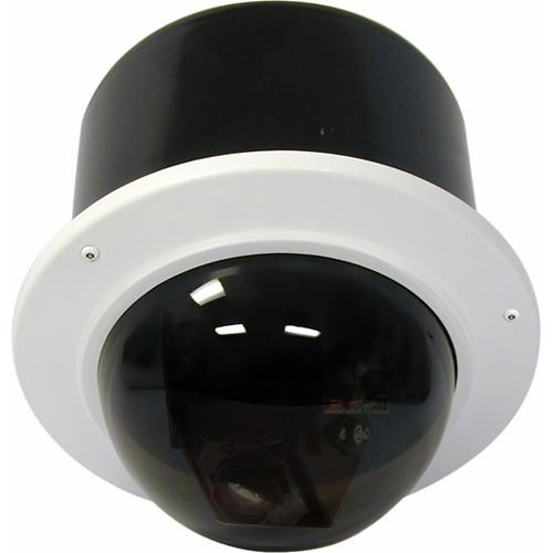 "Videolarm RM7T2N 7"" FusionDome Outdoor IP Ready Vandal Resistant Recessed Mount PTZ Housing"