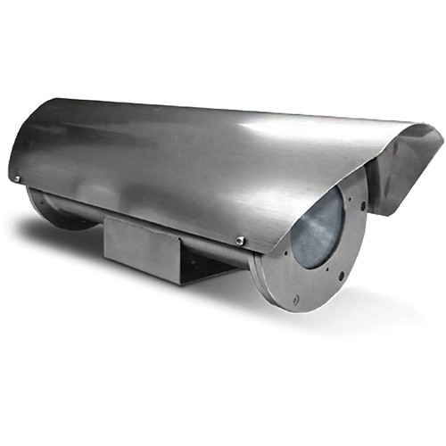 Videolarm Fusion Stainless Steel Tubular Camera Housing with Heater & Blower
