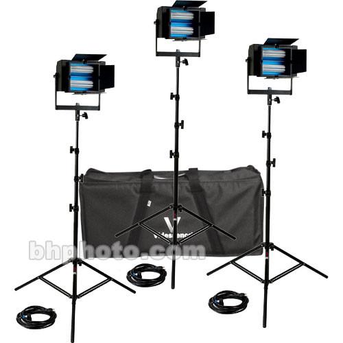 Videssence Baby Base Fluorescent 3 Light Kit - Non Dimming