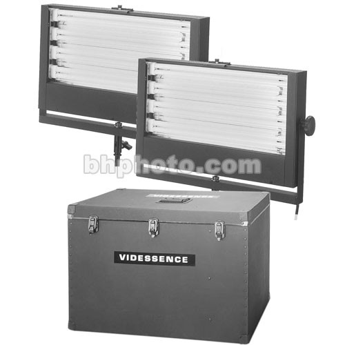Videssence Koldkit Fluorescent 2 Fixture Lighting Kit (120V)