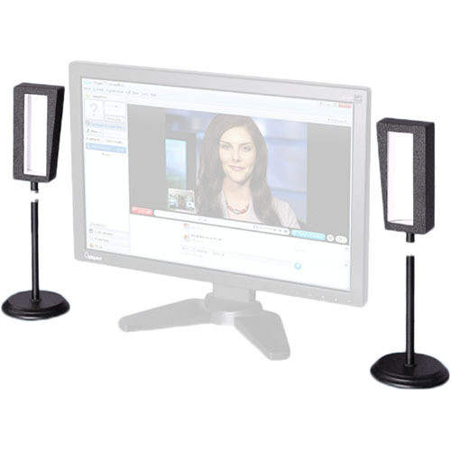 Videssence ViewMe S LED Light Kit with Stands