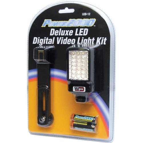 Vidpro Deluxe LED Digital Video Light Kit