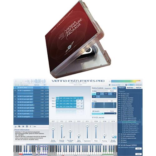 Vienna Symphonic Library Vienna Instruments PRO 2 with USB Software Backup Stick Kit