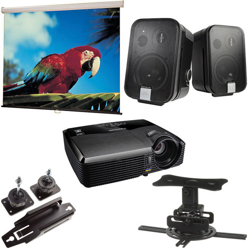 ViewSonic PJD5123 Portable SVGA DLP Projector Conference Room Package