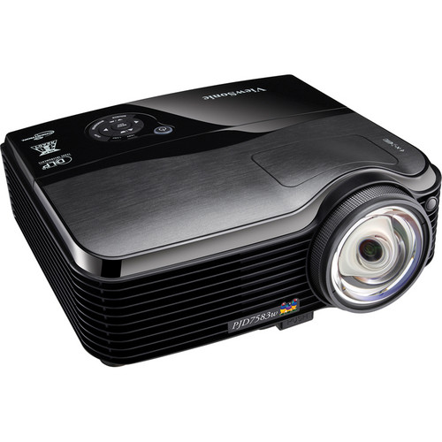 ViewSonic PJD7583W Ultra Short Throw 3D-Ready DLP Projector