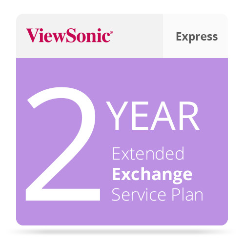 ViewSonic PRJ-EE-10-03 2-Yr Extended Express Exchange Serv for PJ1158/ Cine5000